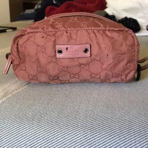 Gucci toiletries bag